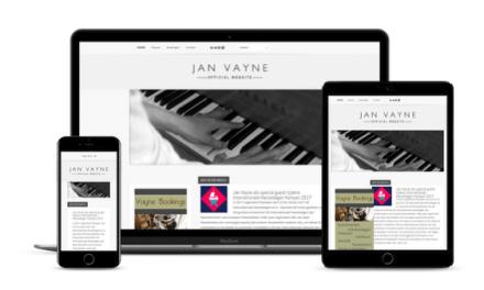 Web-Pepper lanceert nieuwe website Jan Vayne