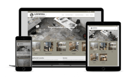 Website Restyling in WordPress voor Tegelhandel Leewika