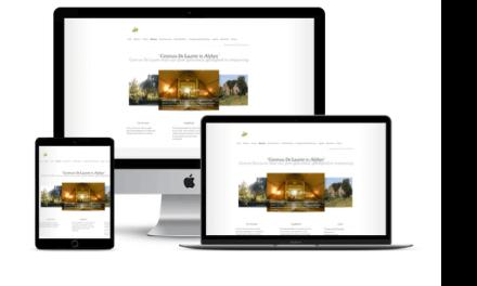 Nieuwe Website voor Centrum De Laurier uit Alphen