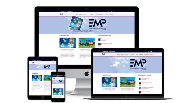 Nieuwe Website voor ESDONK MANAGEMENT & PRODUCTIONS