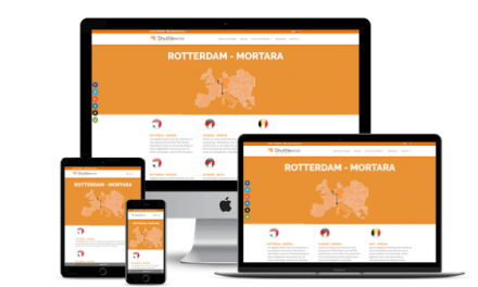 Restyling WordPress Website Intermodal Operator Shuttlewise