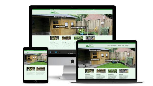 Nieuwe Website Hovenier Arie Hendriks Vorstenbosch!