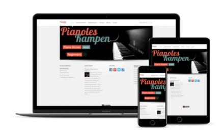 Website voor Pianoles Kampen geopend!