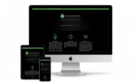 Website Restyling Geluidstechnicus Marc Zeebregts voltooid
