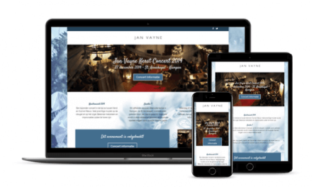 Web-Pepper opent Website Christmas-Chapel.nl voor Jan Vayne