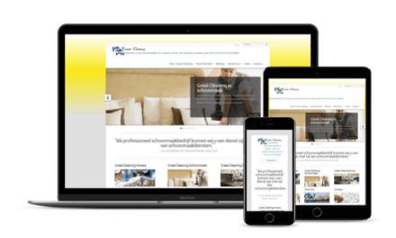 Nieuwe Website voor Great-Cleaning Curaçao