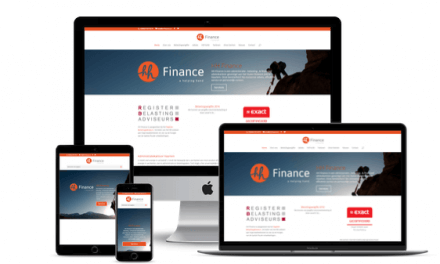 Web-Pepper opent nieuwe website van HH Finance