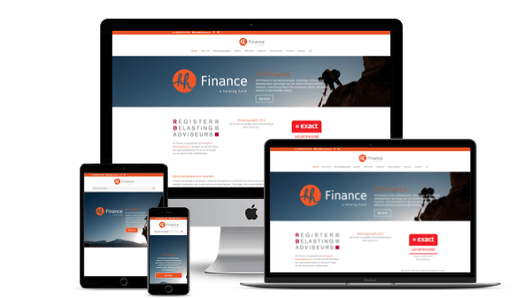 Web-Pepper opent nieuwe website van HH Finance