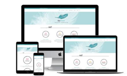 Web-Pepper opent website Viaveer – Creatieve vormgeving