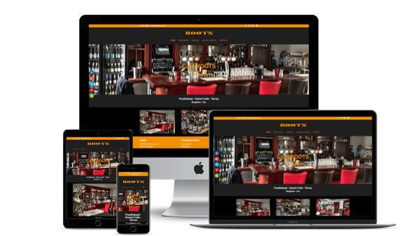 Web-Pepper levert website voor Café ROOTS Berghem