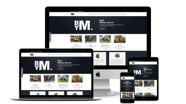 Nieuwe website voor Manon van Lin