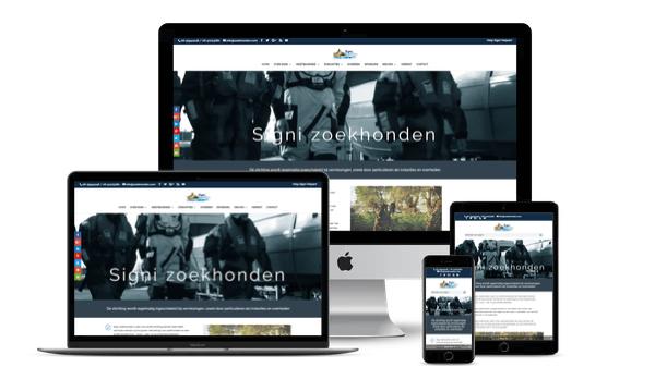 Nieuwe website voor SIGNI zoekhonden