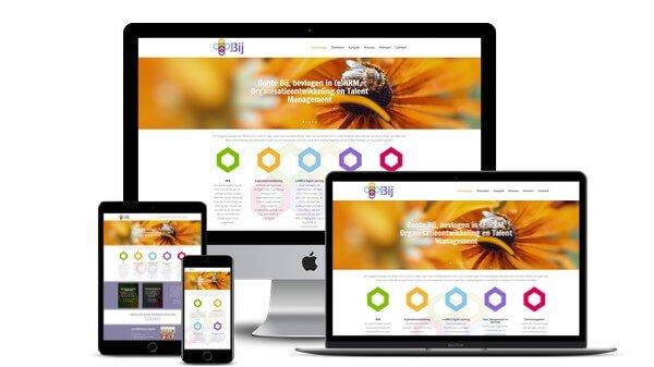 Vernieuwde WordPress Website voor Bonte Bij