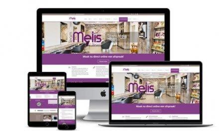 Nieuwe site voor Kapsalon Team Melis