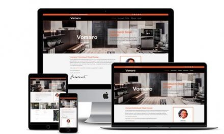 Website Vomaro Individueel Staal Design