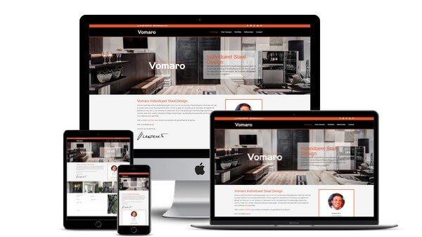 Website Vomaro Individueel Staal Design