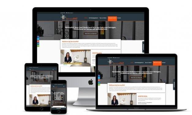 Website voor ServicePAT