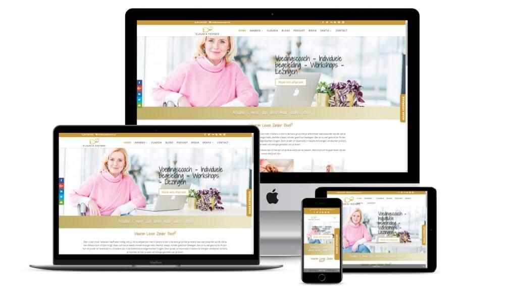 Website Claudia Vesters Online!