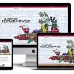Website voor De Vegetarische Restaurantweek