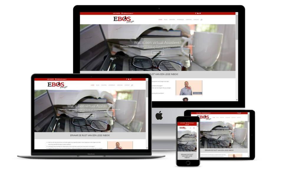 Restyling website EBOS Freetype